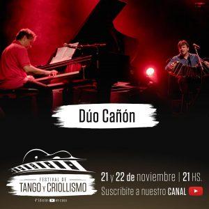 Cañón en el Festival de Tango y Criollismo